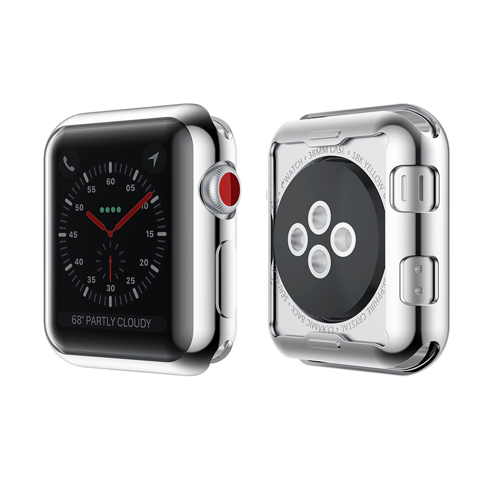 Bakeey Plating TPU Watch Protective Case For Apple Watc