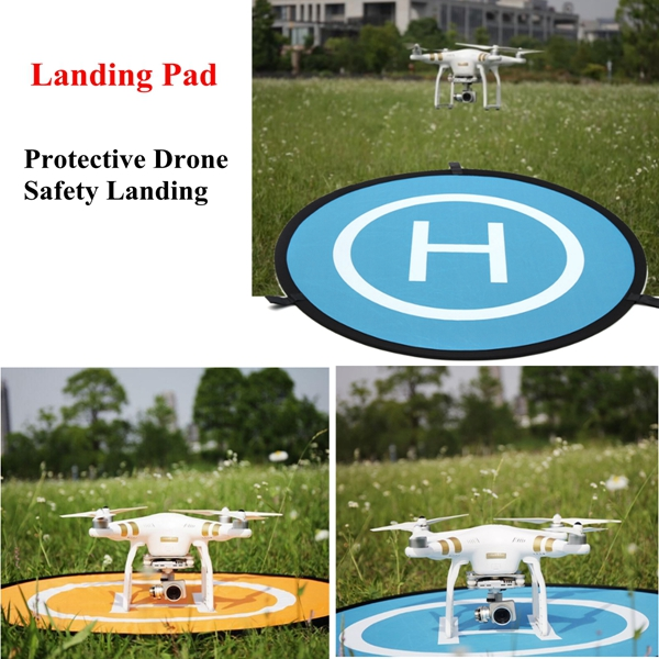 Landing Pad Helipad Waterproof Foldable Portable 75cm For DJI Phantom 3 4 Mavic Pro