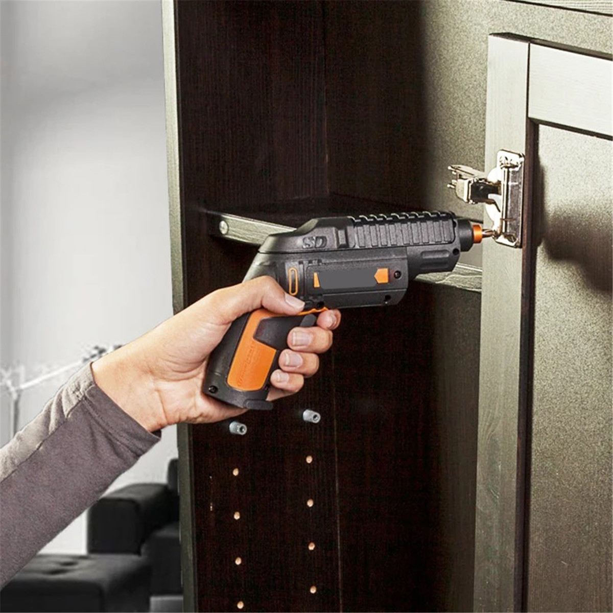 WORX® 4V Lithium Electric Screwdriver Cordless Slide Driver Household Rechargeable Screwdriver