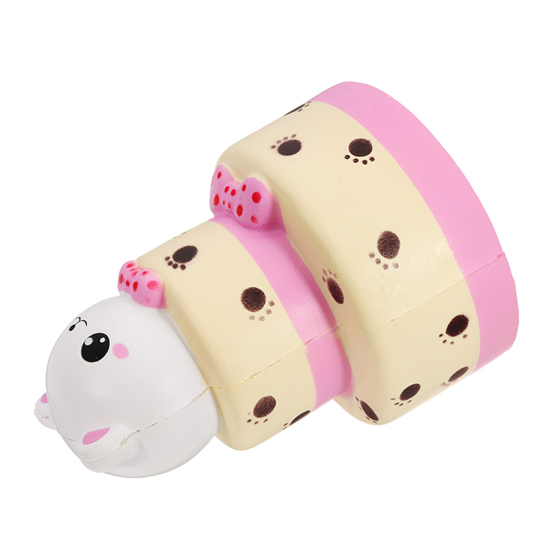 NO NO Squishy Cat Cake Sweet 15*10.8CM Slow Rising With Packaging Collection Gift Soft Toy