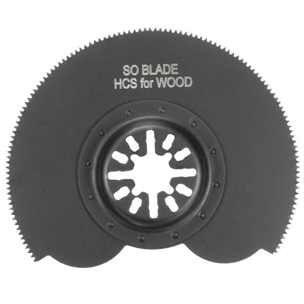 88mm Segment Saw Blade HCS Multi Cutter Oscillating Multitool Oscillating Tools