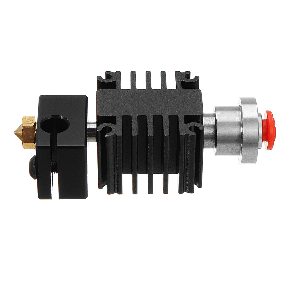 0.4mm/1.75mm V6 All Metal Universal Remote Hotend Nozzle Extruder Integrated Kit with 12v Cooling Fan