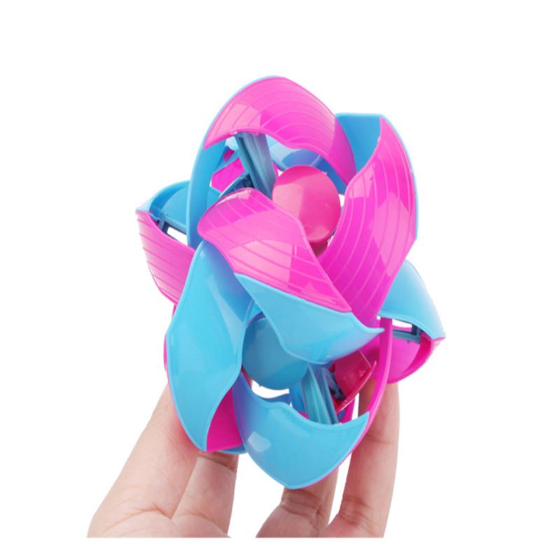 10CM Eco-Friendly Colorful Plastic Ball Novel Decompression Children's Toys Birthday Gift