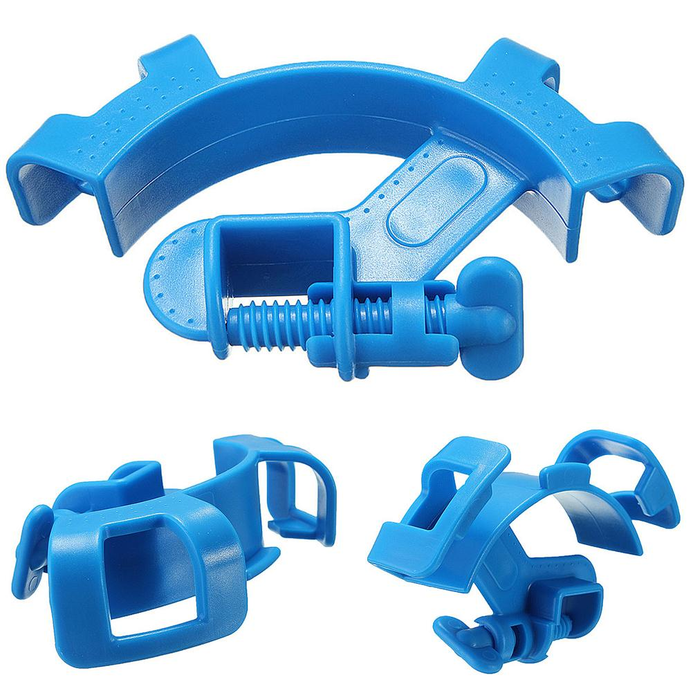 Aquarium Water Pipe Holder Water Tube Clamp Clamping Tools Fixed Clip Fish Tank Hose Holder