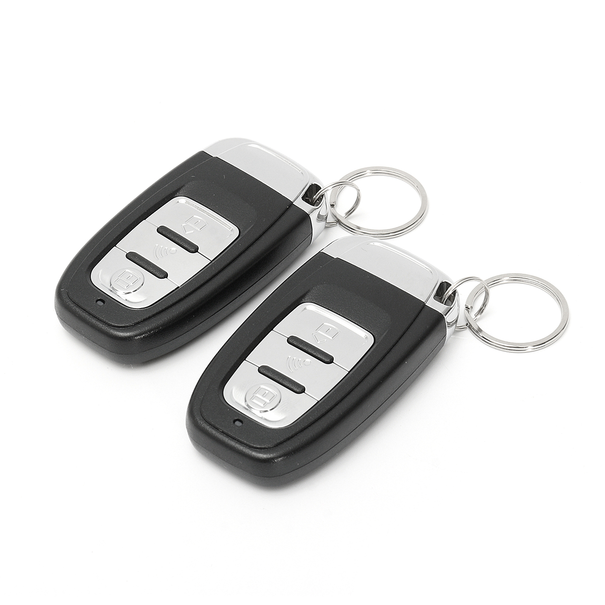 Smart 3D Induction Keyless Entry Car Alarm Push Start System