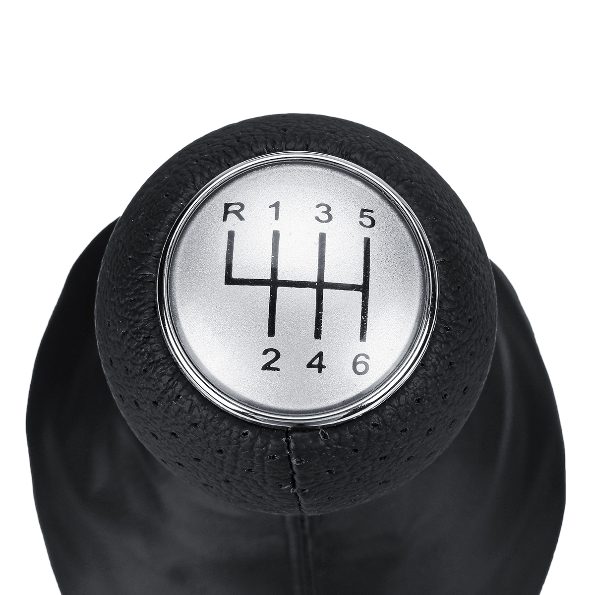 6 Speed Manual Gear Shift Knob Boot Gaiter Cover for Polo VW Golf MK4 Seat IBIZA