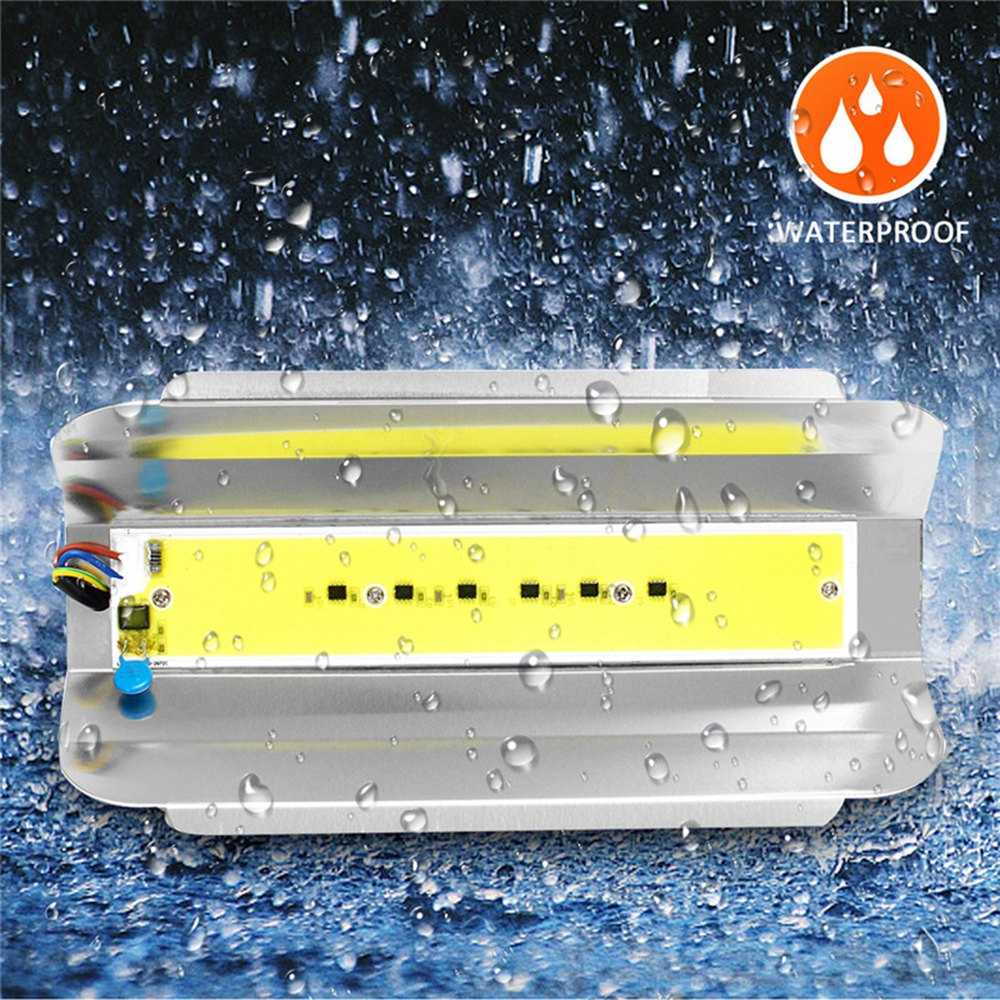 50W High Power LED Flood Light COB Waterproof Lodine-tungsten Lamp For Outdoor Garden AC180-260V