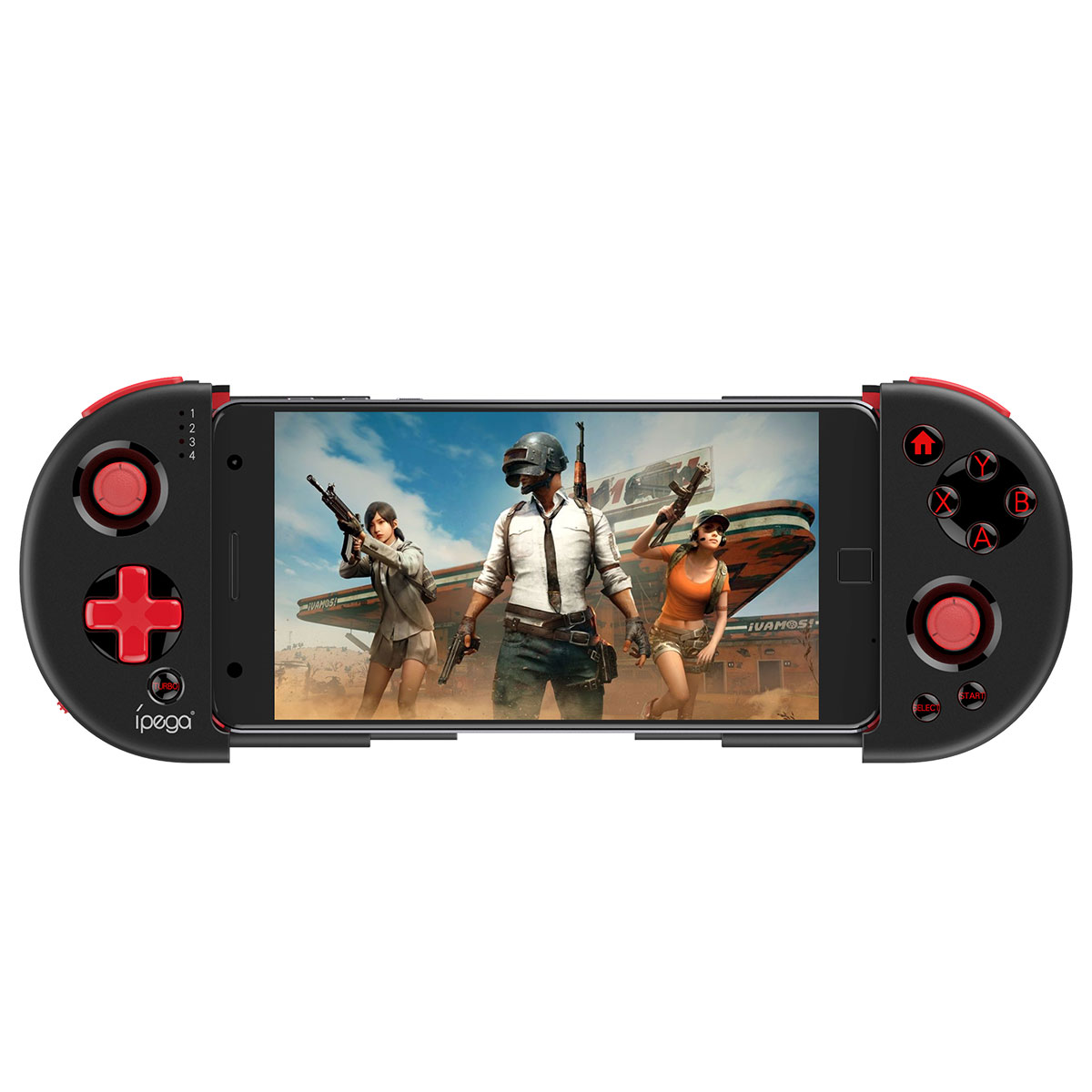 iPega PG-9087S bluetooth Wireless Gamepad Controller for PUBG Mobile Game for iOS Android Phone PC TV Box