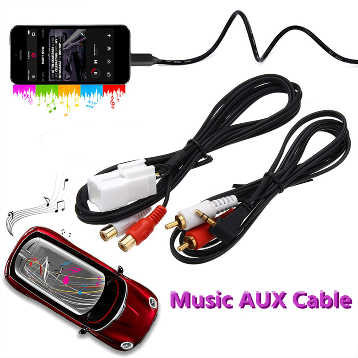 5Pin Car AUX Cable for Ford Ba-Bf Falcon Territory