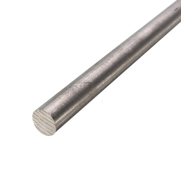 10mm x 300mm Titanium GR2 Rod Metal Round Rod