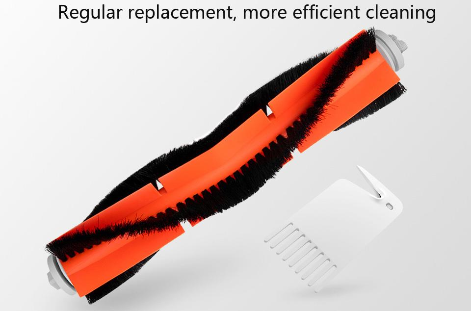7pcs Main Brush Filter Roller Brush Cover Comb Side Brush For Xiaomi Roborock Robot Vacuum Cleaner Cleaner Accessories