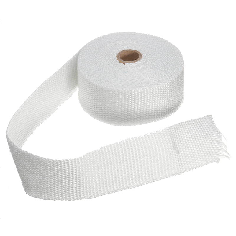 5Mx5CM Heat Exhaust Pipe Header Heat Wrap Resistant Fireproof Insulating Cloth For Car Motorcycle