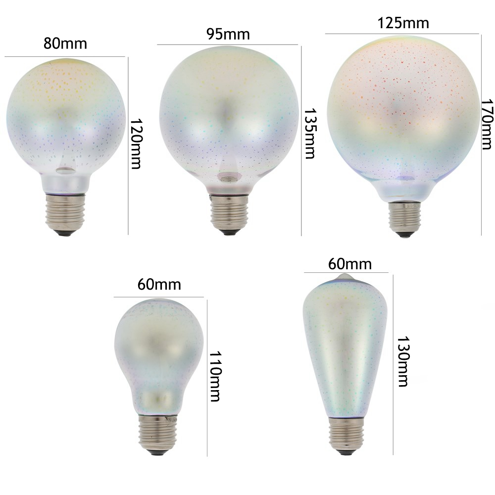 ARILUX® E27 5W SMD2835 LED Warm White 3D Decorative Edison Light Bulbs Holiday Party Lamp AC85-265V