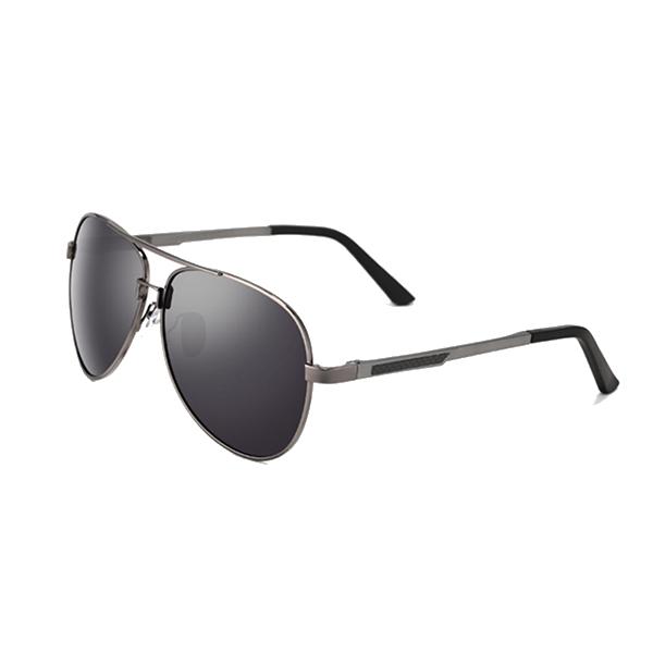 Mens Ultralight Polarized Sun Glassess Retro Aluminum magnesium Frame Glasses
