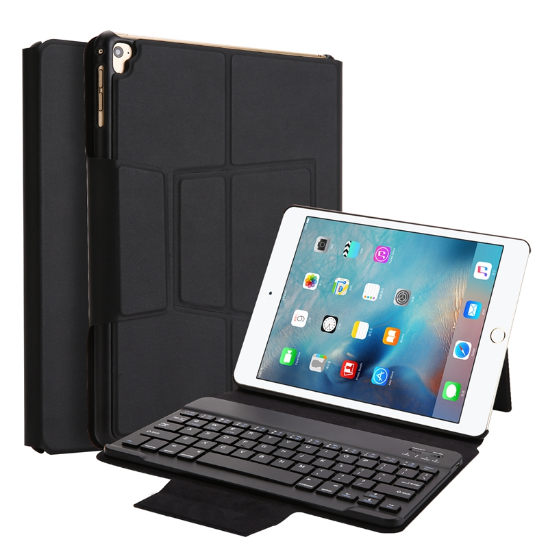 Removable Bluetooth Keyboard Kickstand Case For iPad Ai