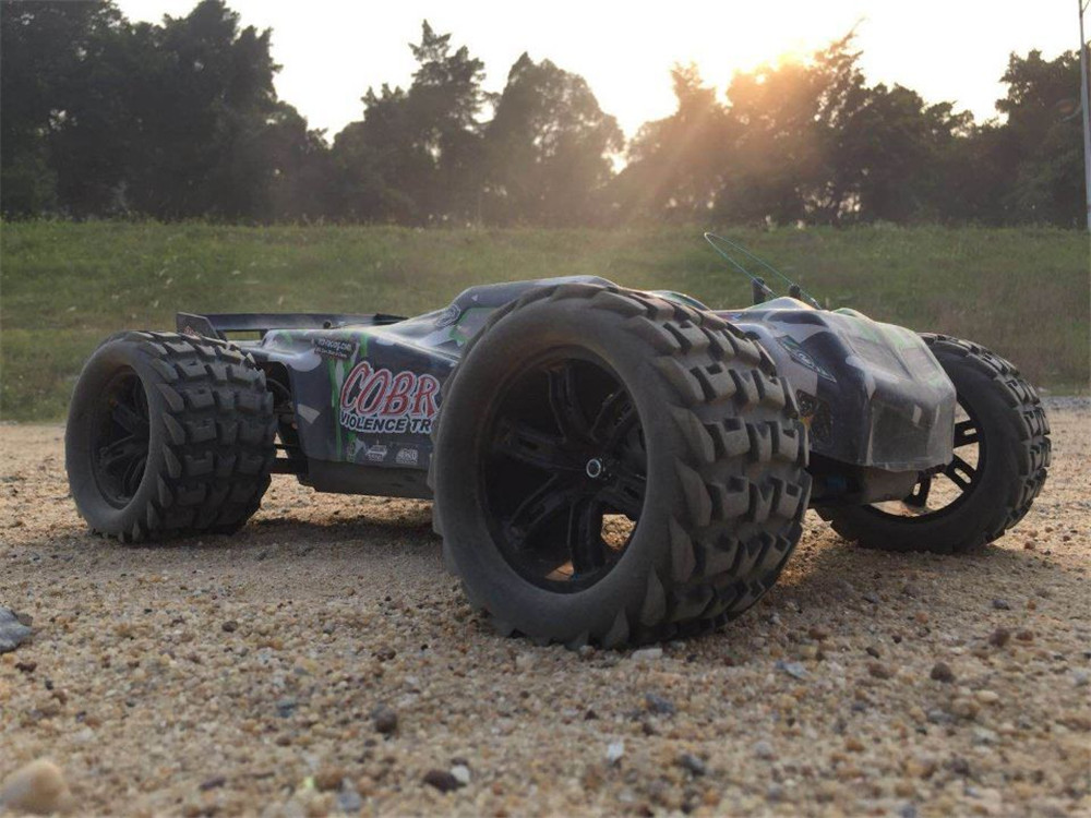 VRX Racing RH817 COBRA EBD 485mm 1/8 2.4G 4WD Brushless Rc Car Off-road Monster Truck RTR Toy