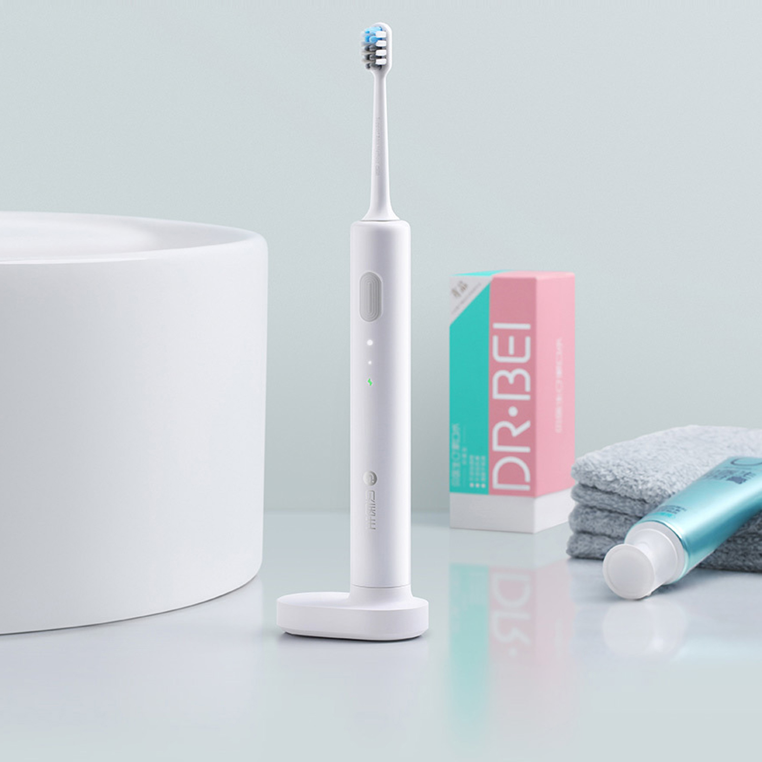 Dr. Bet-C01 2 Brush Modes Essence Sonic Electric Wireless USB Rechargeable Toothbrush IPX7 Waterproof With 2 Toothbrush Head from Xiaomi Youpin