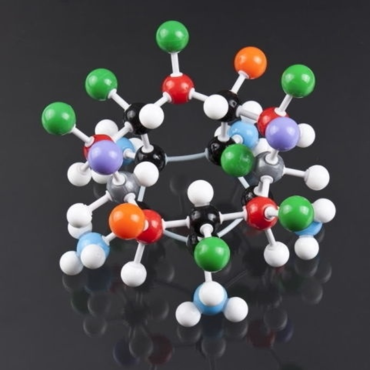 240Pcs Chemistry Molecular Molecules Model Kit General and Organic Chemistry Atom Bonds Student Set