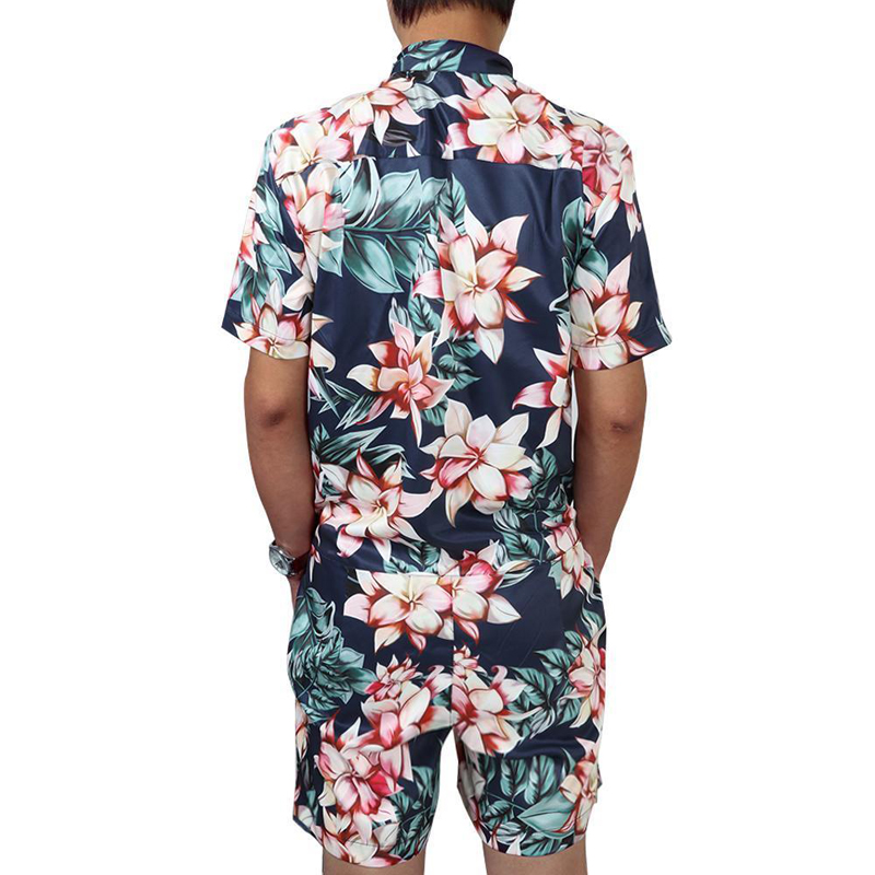 Mens Beach Clothing Casual Suit Swimming Swimwear Swimsuit Outdoor Sports Suit