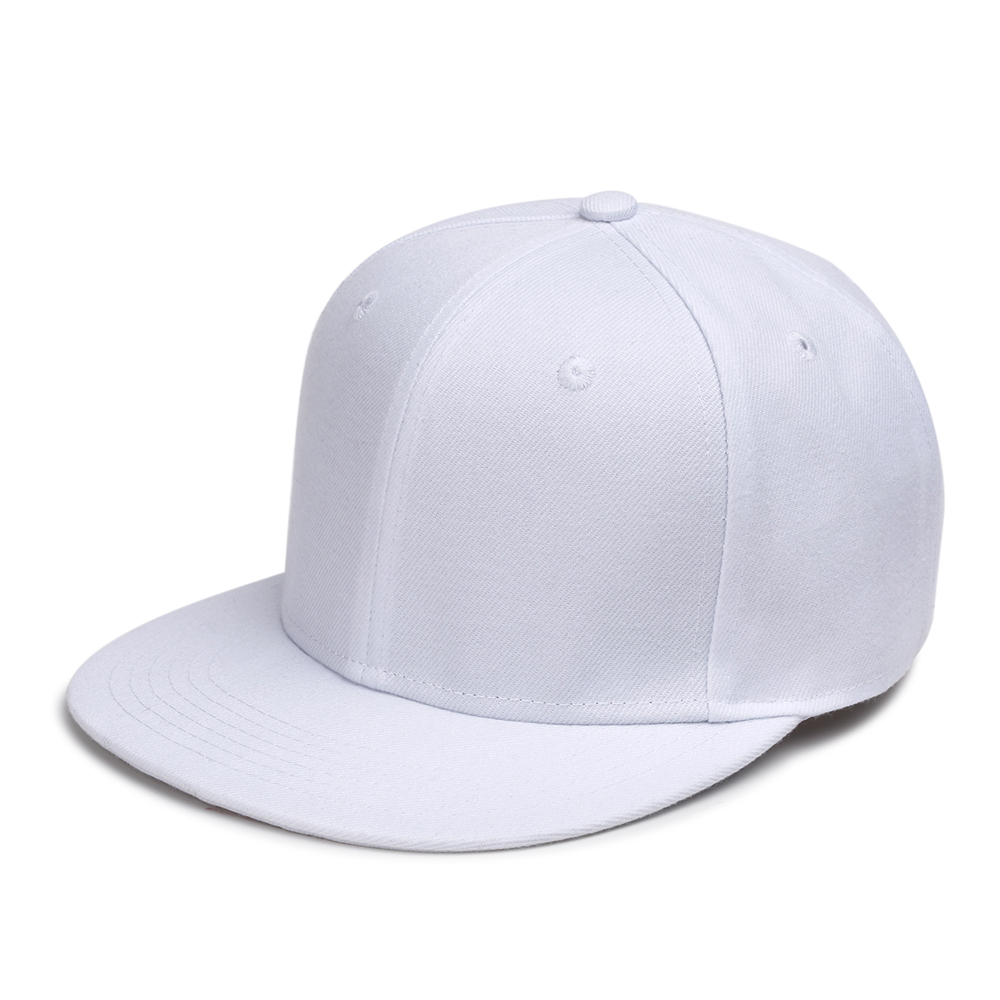 Unisex Plain Stripe Baseball Caps Fashion Snapback Hats