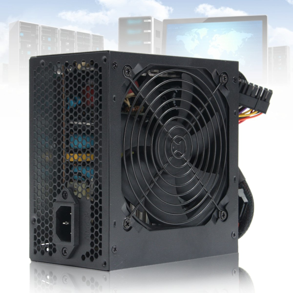 650W 12V PC Power Supply 24Pin Computer Power Supply Desktop PC For Molex Sata AU Plug