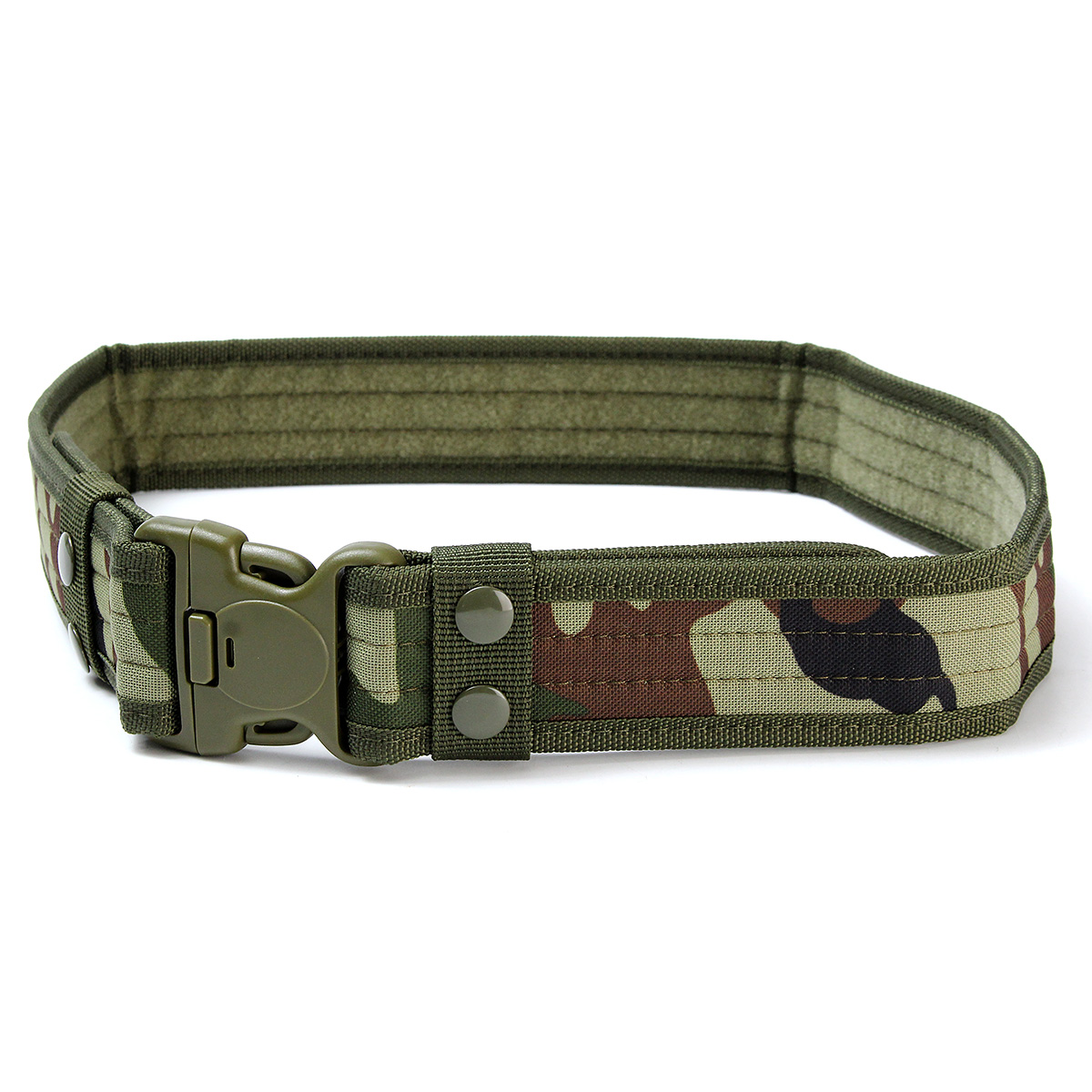 130CM Mens Military Army Tactical Belt Swat Combat Hunting Outdoor Sports Belt