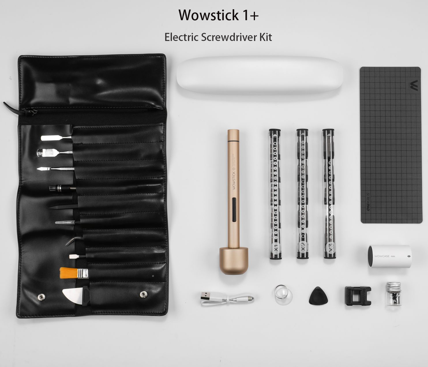 XIAOMI Wowstick 1+ Precision Electric Screwdriver Set Cordless Chargeable DIY Repair Tools Kit
