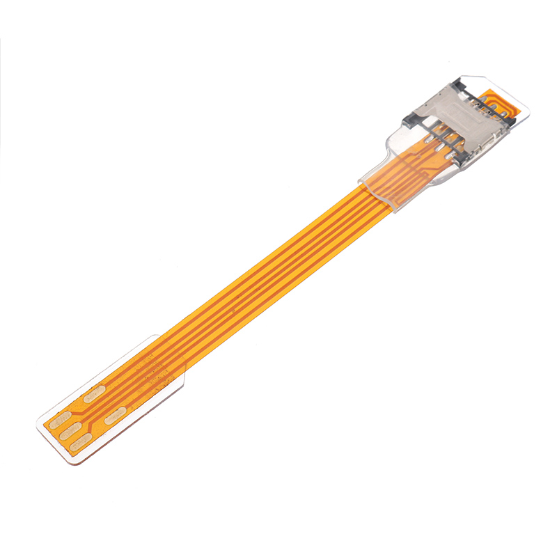 SIM Card Extension Line Adapter Nano Card Slot Converter Flex Cable for iPhone 5/5s