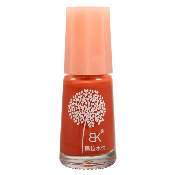 Non-toxic Nail Polish Water-based Peelable Green Gel Oil Decoration