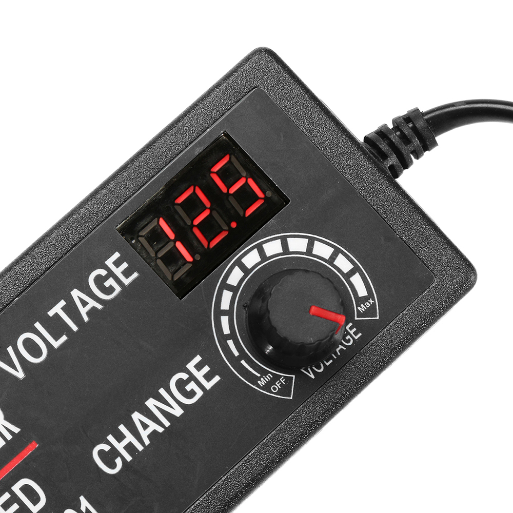 Excellway® 9-24V 3A 72W AC/DC Adapter Display Adajustable Power Adapter Switching Power Supply UK