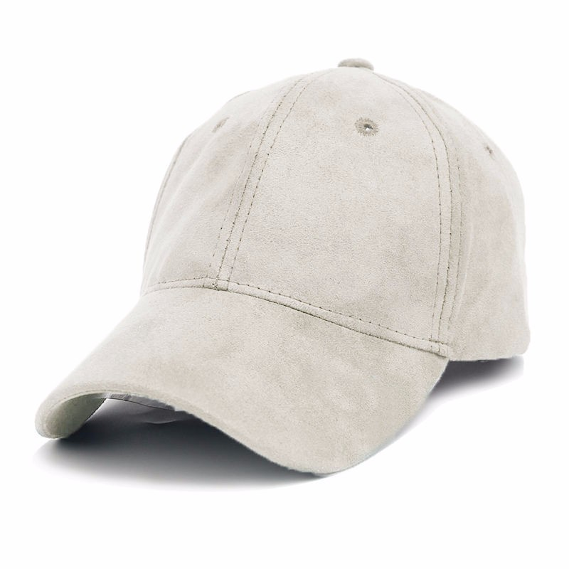 Women Suede Fitted Baseball Hats Casual Adjustable Trucker Sport Caps