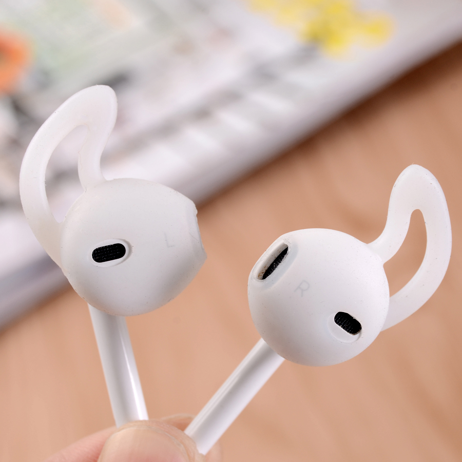 Sports Anti-slip Soft Silicone Hooks Replacement Ear Muffs Earphone Case Cover For Airpods