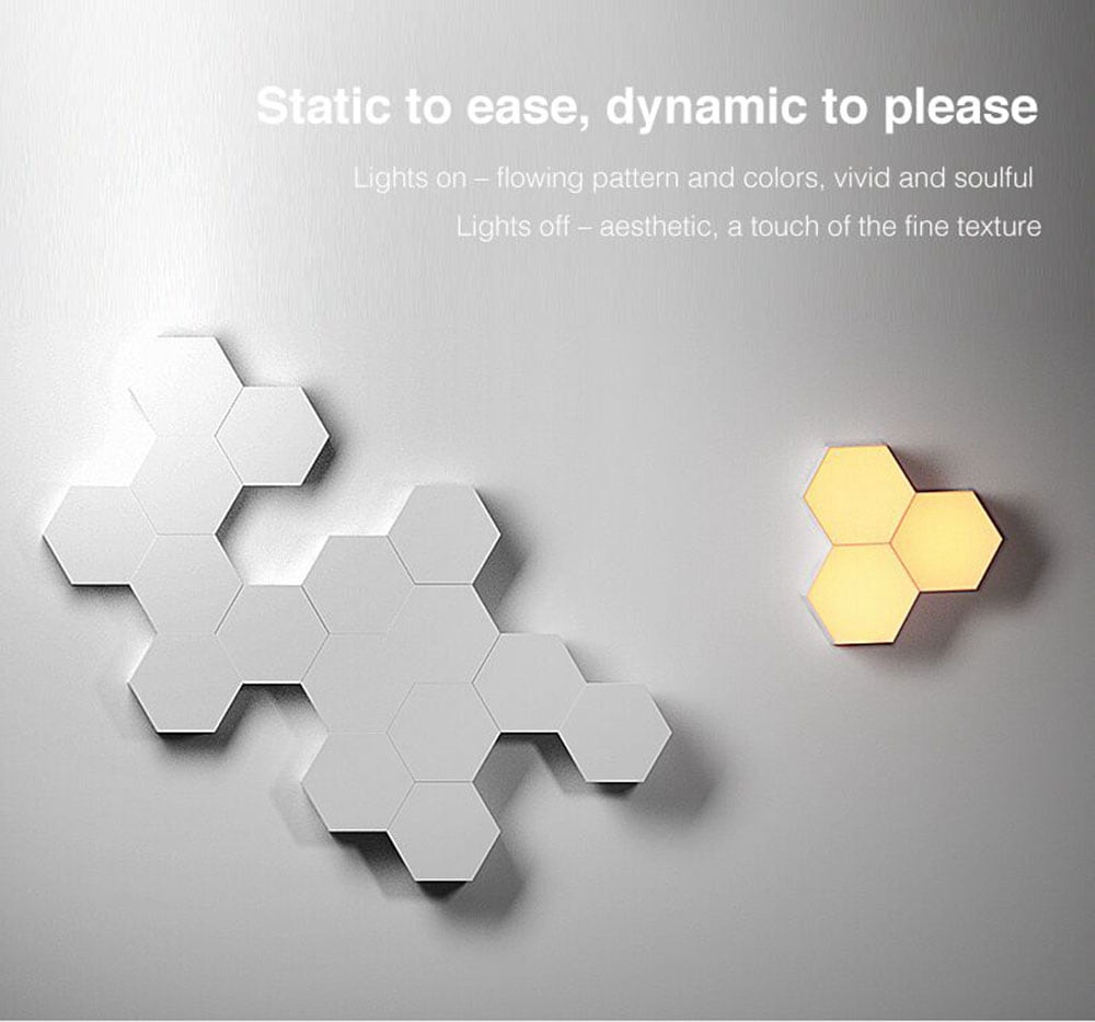 LifeSmart Creative Geometry Assembly Smart Control Home Panel Light Atmosphere Night Light