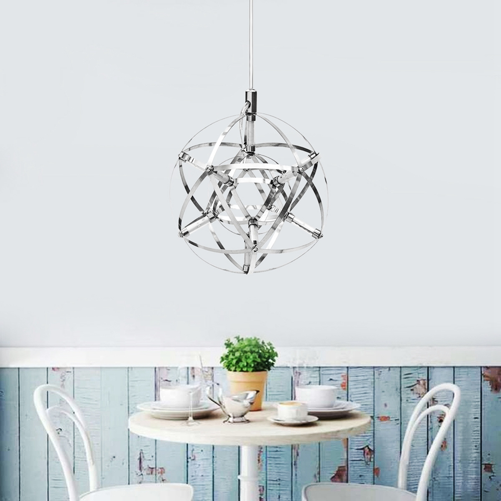 20cm Modern LED Suspension Chandelier Light Sphere Pend