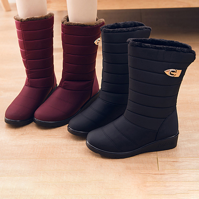 Women Winter Snow Keep Warm Waterproof Boots