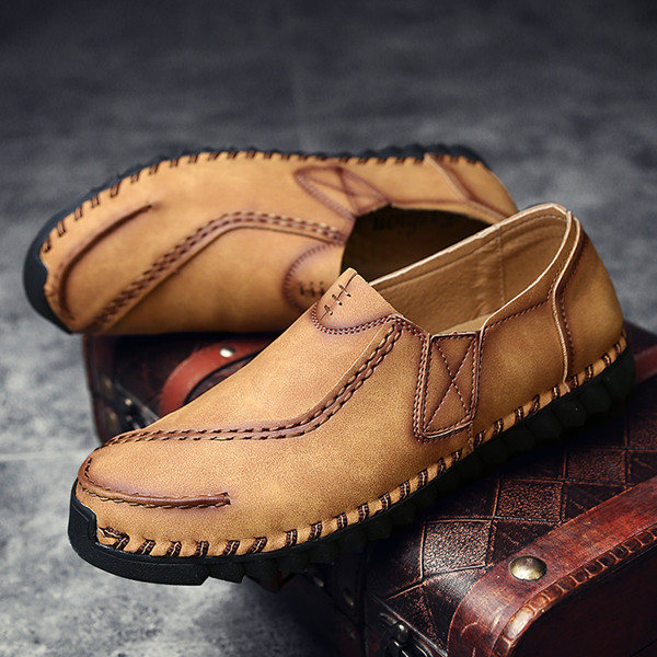 Men Casual Slip On Loafers Flats