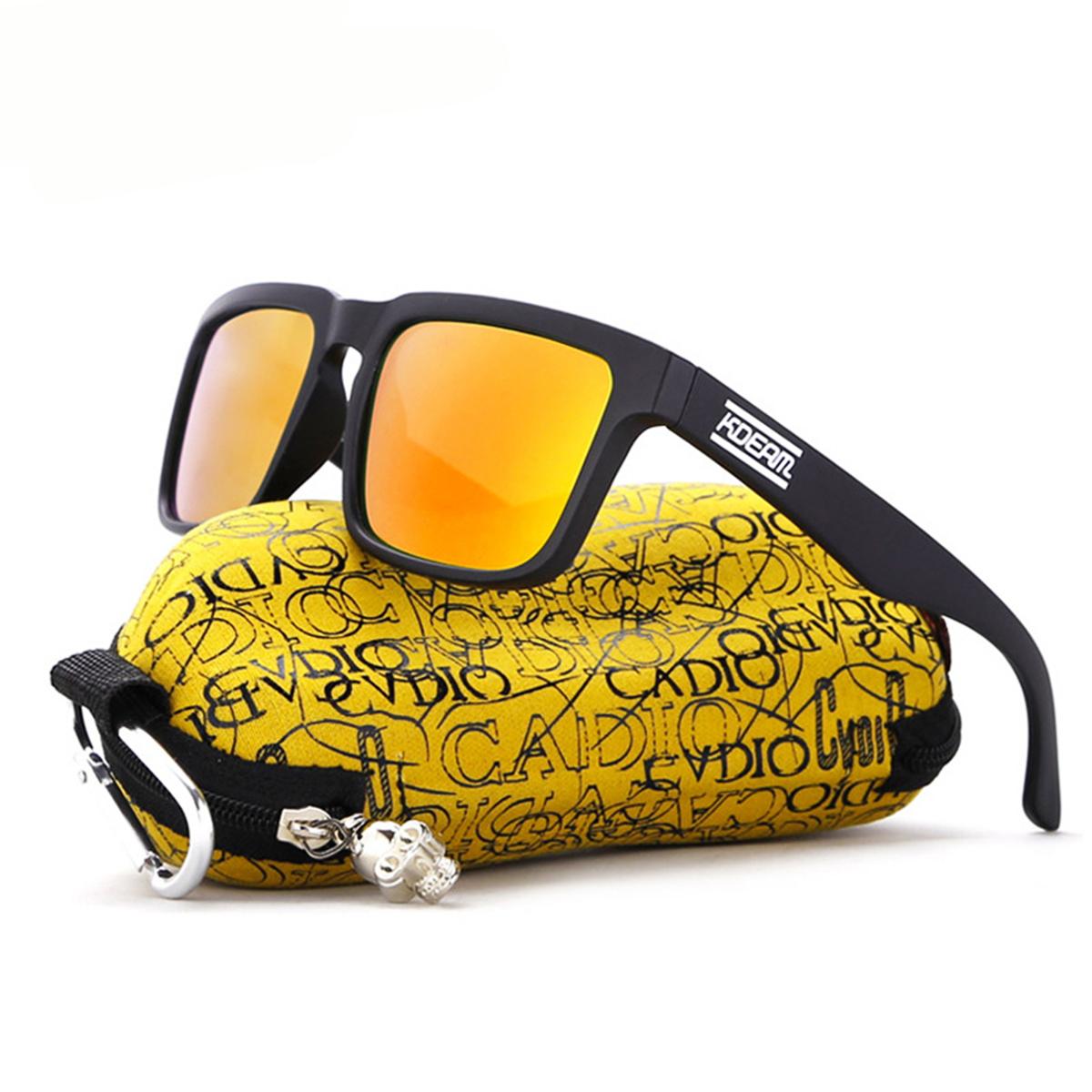KDEAM KD901P-C10 Polarized Sunglasses Men Bike Fishing