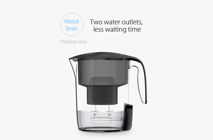 VIOMI From XIAOMI Youpin MH1Z-A 3.5L Glass Cordless Electric Filter Kettle UV light Bacteriostatic Water Cleaner