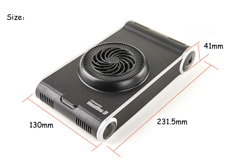 USB 3.0 External Hard Disk Enclosure Station With Cooling Fan For 2.5 Inch HDD SSD 3.5inch HDD