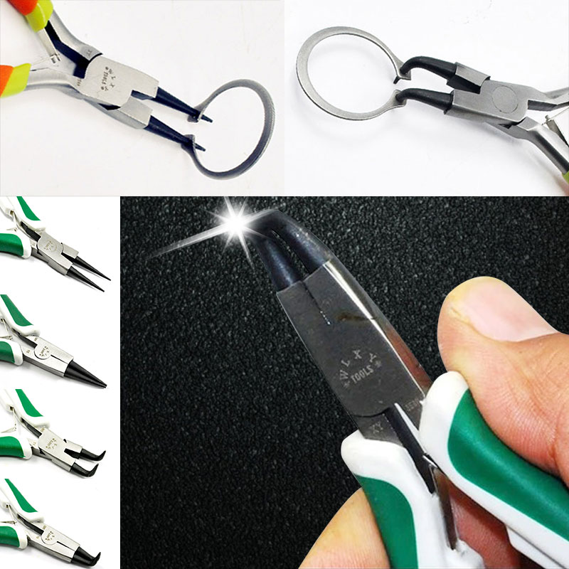 DIY Jewelry Round Nose Plier Craft Spring Pliers Tool Needle Pliers for Jewelry Making (4 Type)