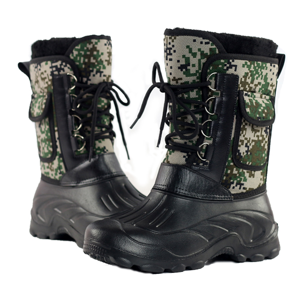 US Size 8-11 Men Waterproof Camo Hunting Boots