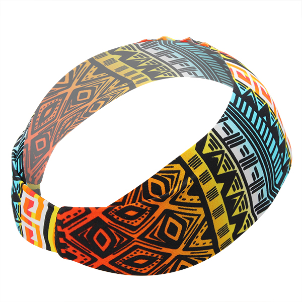 Women Sport Printed Headbrand Casual Fashion Multi Pattern Running Workout Headwear