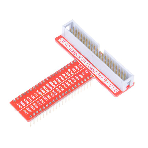 40 Pin T Type GPIO Adapter Expansion Board For Raspberry Pi 3-2 Model B-B+-A+-Zero