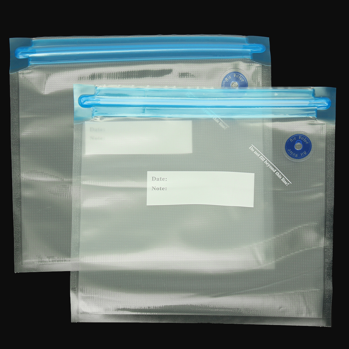 10pcs Vacuum Food Storage Bag Sealer Packaging Manual with Hand Pump