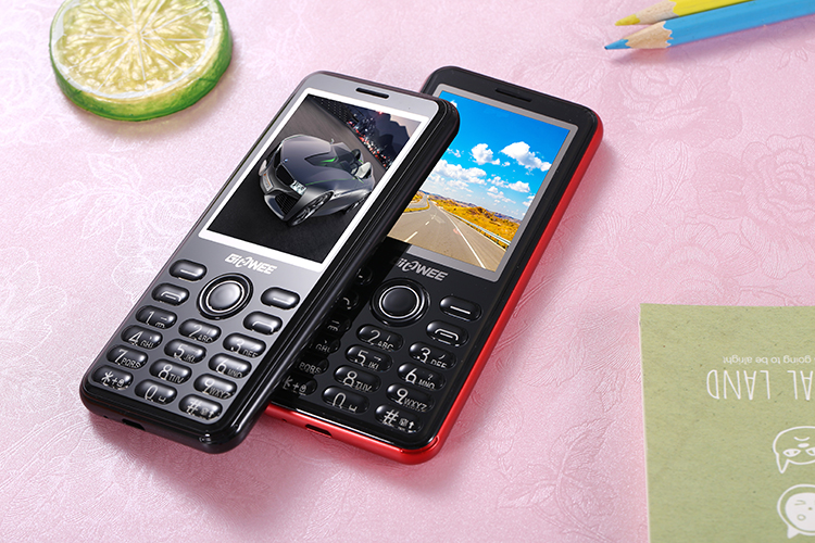 GIOWEE TT21 2.4'' 1000mAh MP3 bluetooth Big BOX Long Standby Ultra Thin Mini Card Feature Phone
