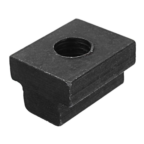 Machifit 10pcs M8 T Slot Nuts Set Black Oxide Finish T-slots Nut For T Track