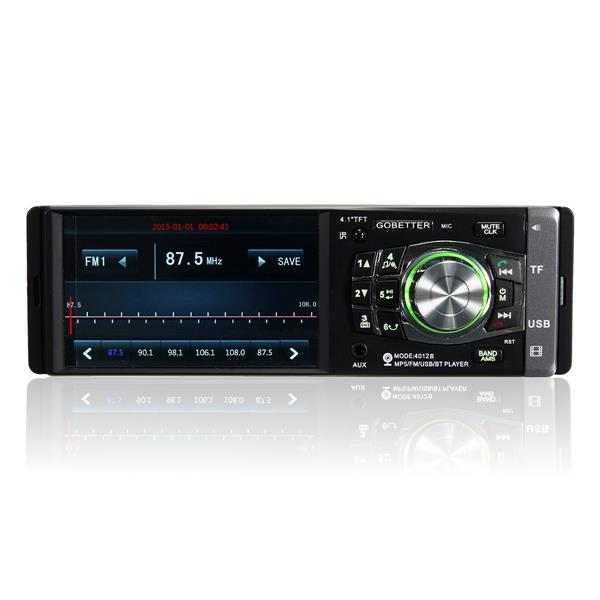 4.1 inch Hands Free Car Radio Stereo MP3 MP4 Player Blu