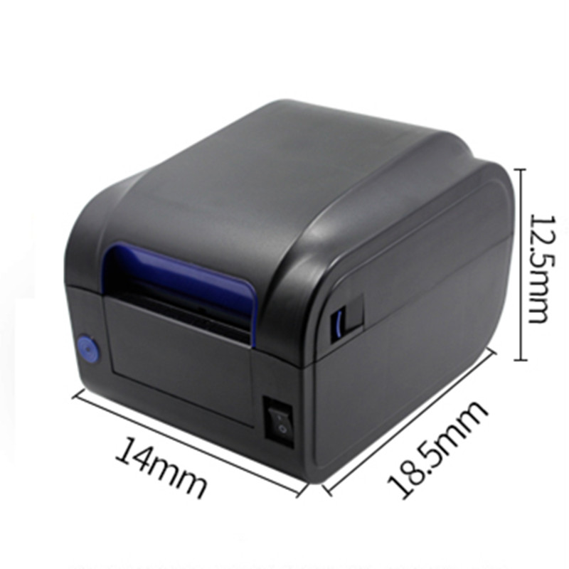 MHT-P80A Thermal Receipt Printer Low Noise 80mm Print Width With USB Port For Supermarket Restaurant