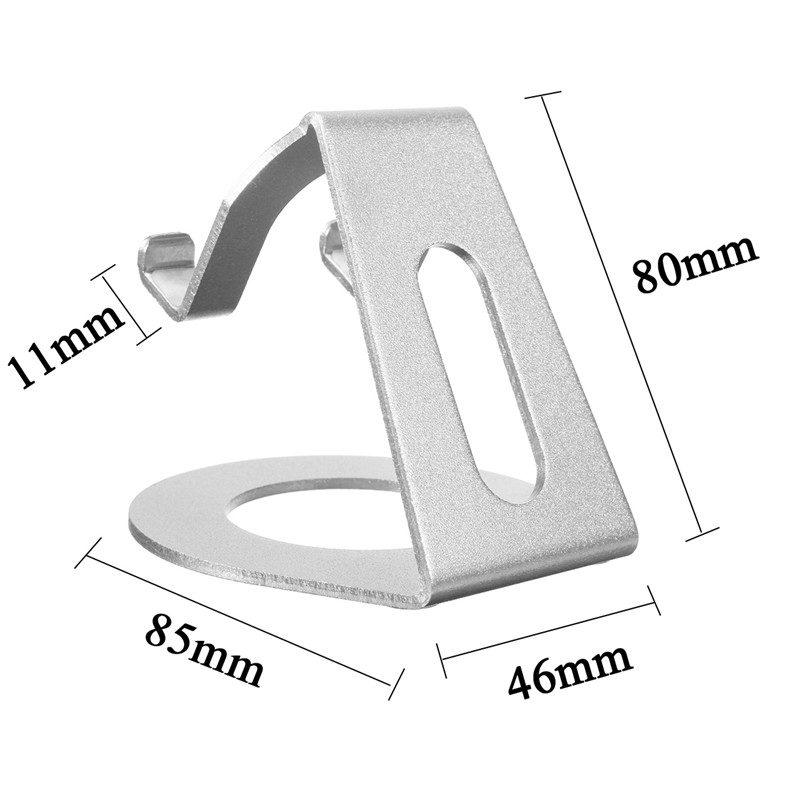 Universal Aluminum Alloy Stand Holder For 3.5-10 Inch Cellphone Tablet