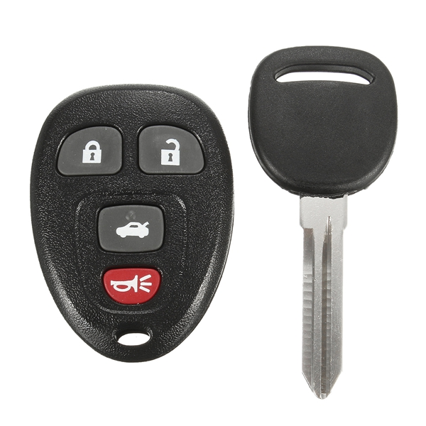 Car Keyless Entry Remote Fob Uncut Ignition Transponder Chip Key for Chevrolet